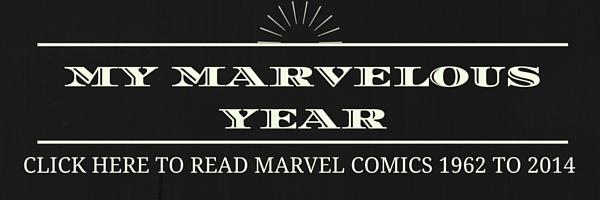 Comic Book Herald's My Marvelous Year
