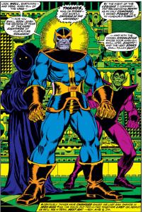 Thanos First Captain Marvel Appearance
