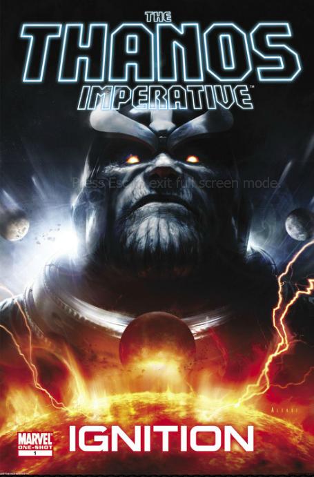 Thanos allows you a brief moment to decide