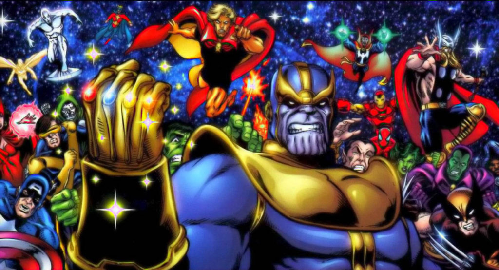 Thanos vs the Marvel Universe