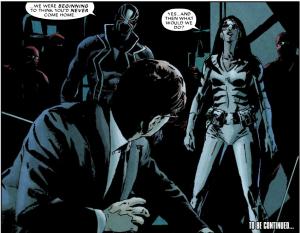 Daredevil vs The Hand