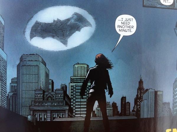 Batgirl Bat Signal