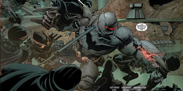 Hulkbuster Batman Vs The Court of Owls