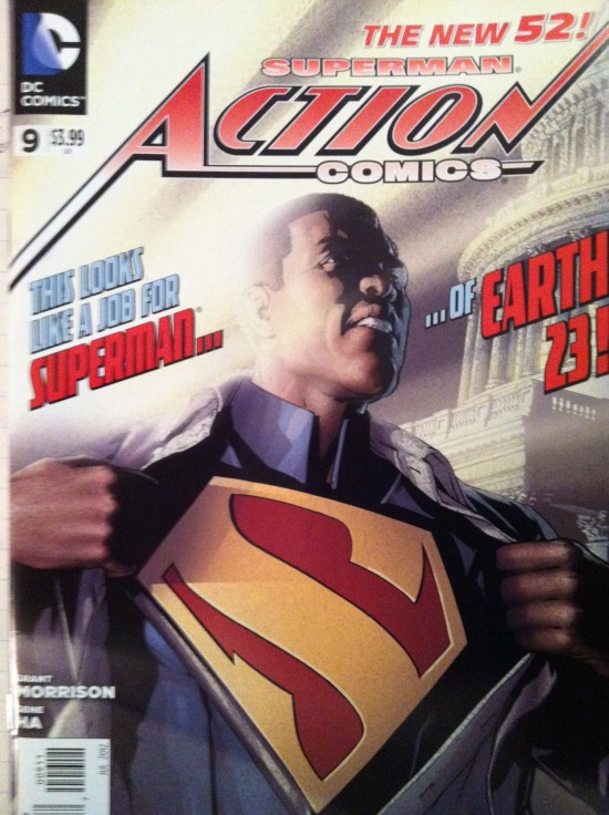 President Superman is Black and Awesome