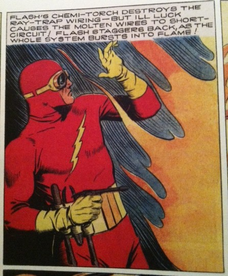 Flash Gordon as Flash DC