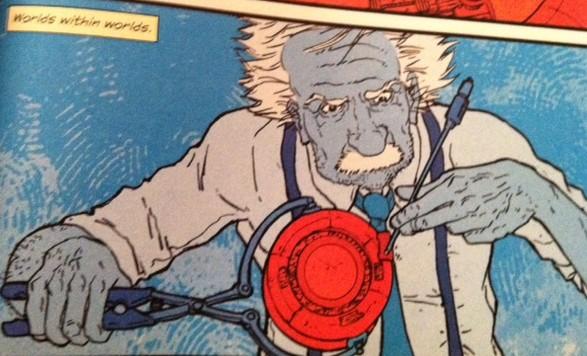 Einstein Comic Book Style