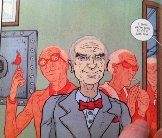 Comic book Oppenheimer