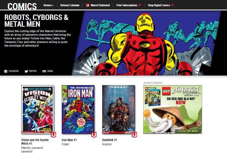 Marvel's Digital Library