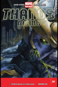 Thanos Rising Cover #1