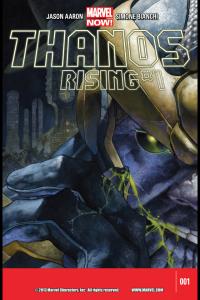 Thanos Rising Cover #1