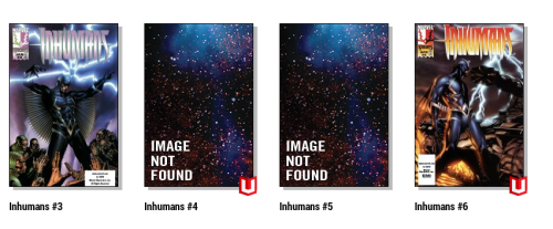 Marvel Unlimited Missing Inhumans