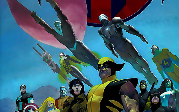 House of M event from Marvel Comics