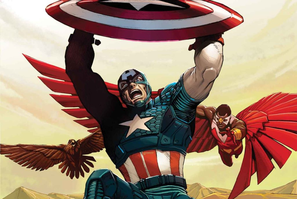 captain america loose nuke