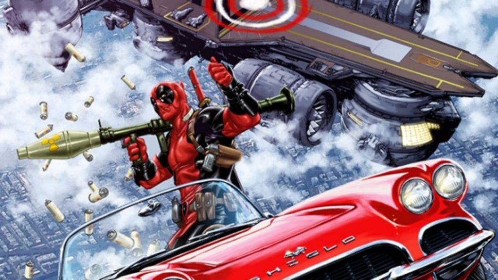 deadpool bazooka hellicarrier