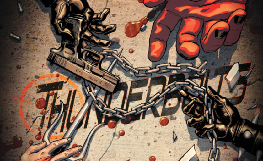 Punisher kills the thunderbolts