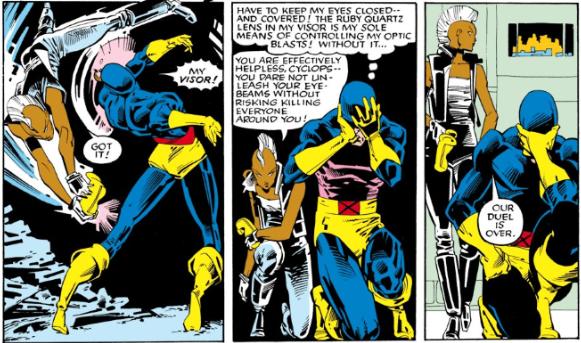 Ororo for the win! Eat it, Cyclops! Woooooo!