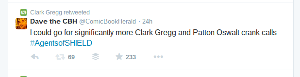 clark gregg retweet