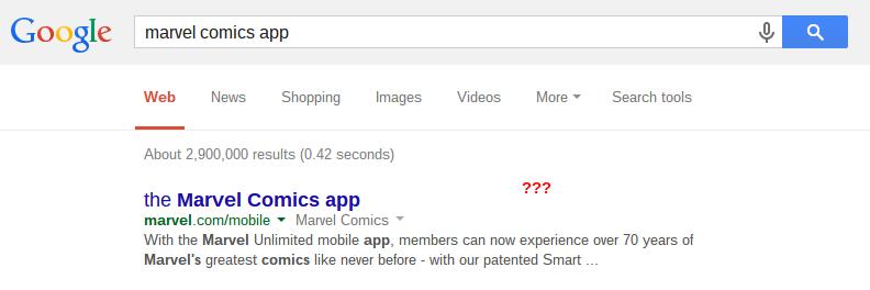 marvel comics app Google Search