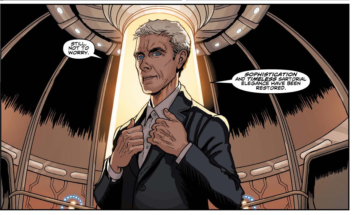new elegant doctor who number 12