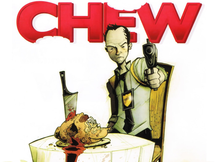 Chew cover with Tony Chu