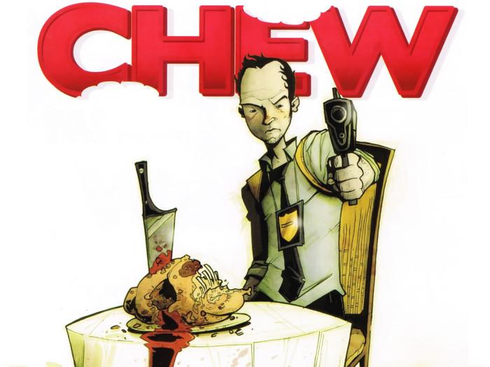 Chew cover with Tony Chu