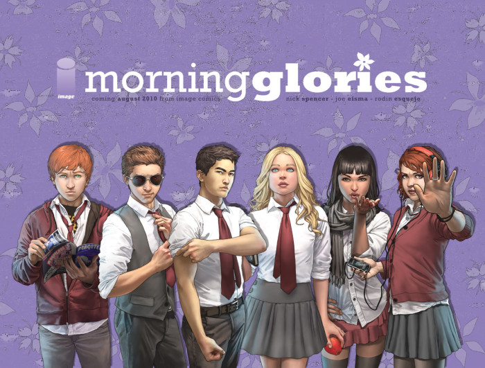 The Morning Glories academy kids