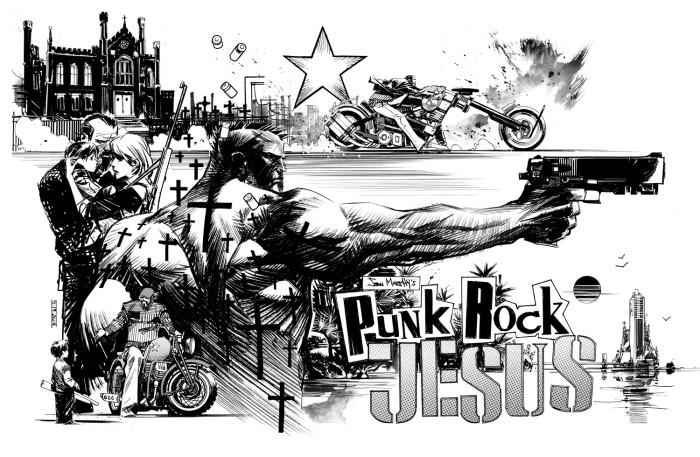 Punk Rock Jesus miniseries comic