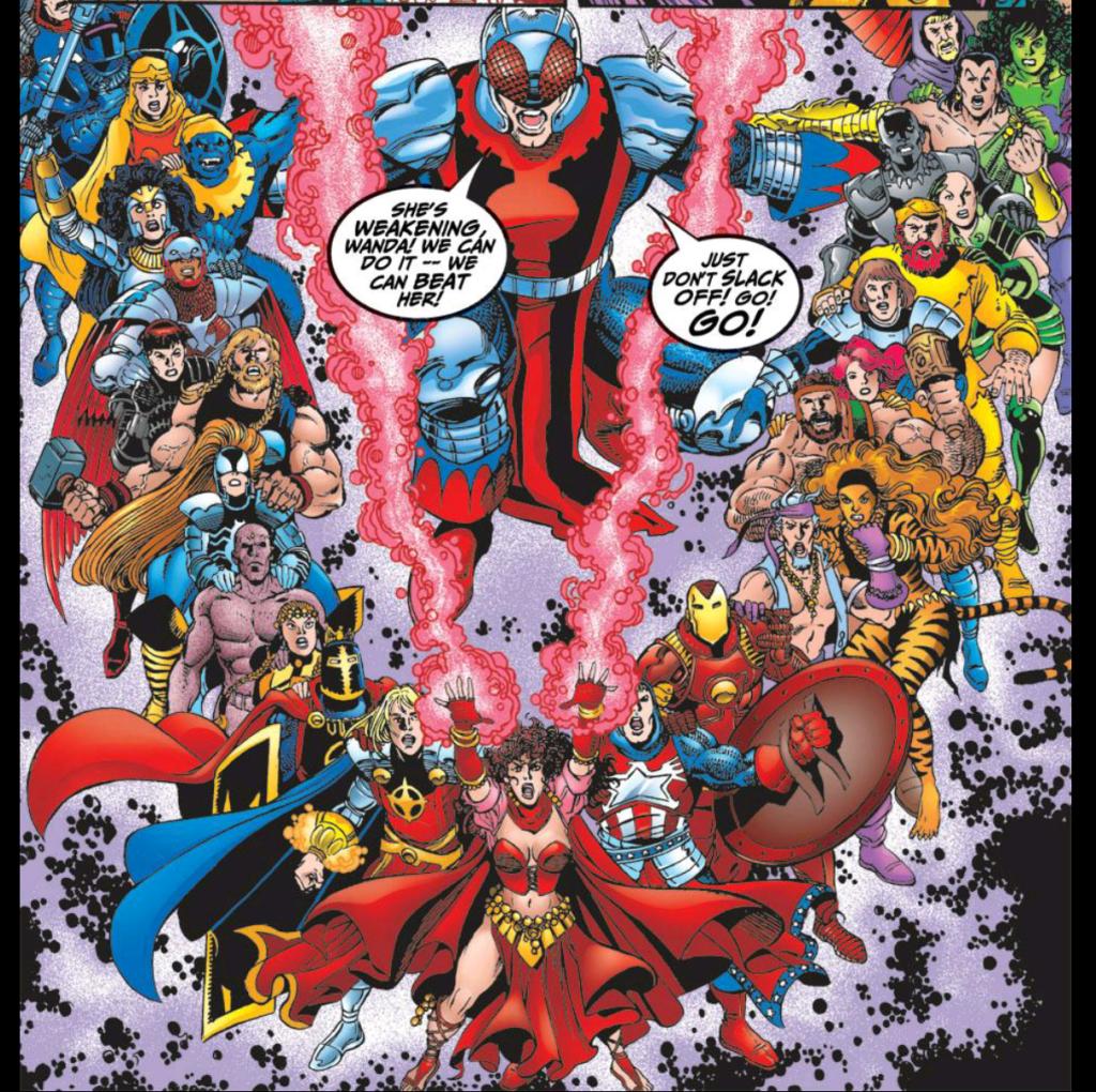 Avengers return