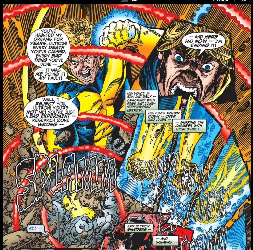 Hank Pym Murders Ultron
