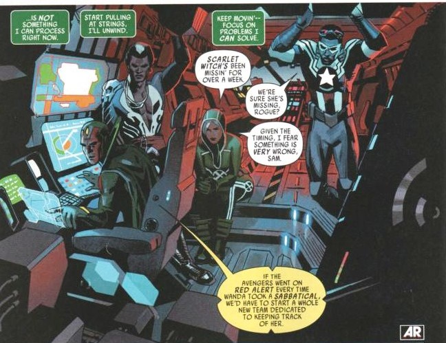 Welcome to Rogue's Avengers, Vizh (hope you yadda yadda yadda...)