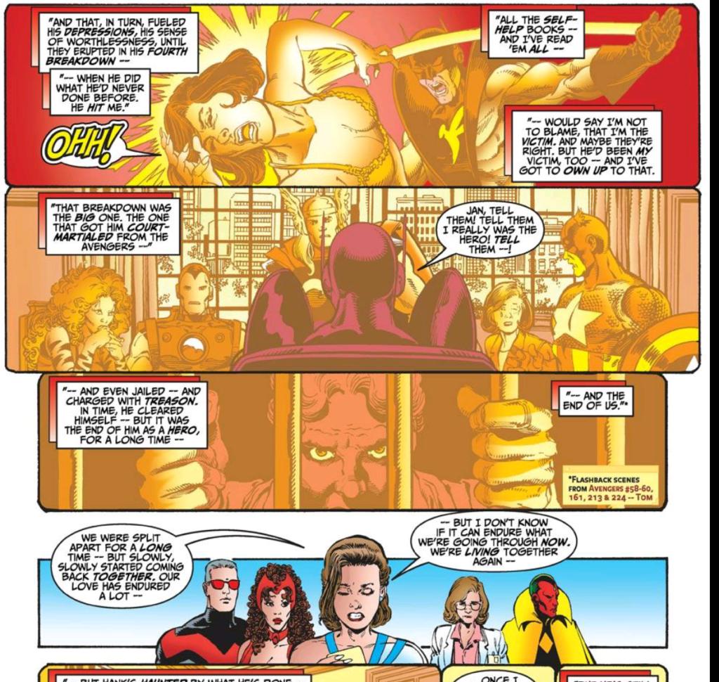 Hank Pyms history as Avenger