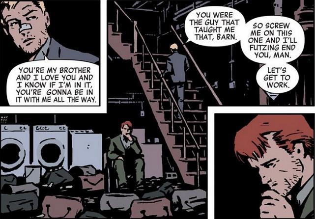 Brotherhood. 3 panels.