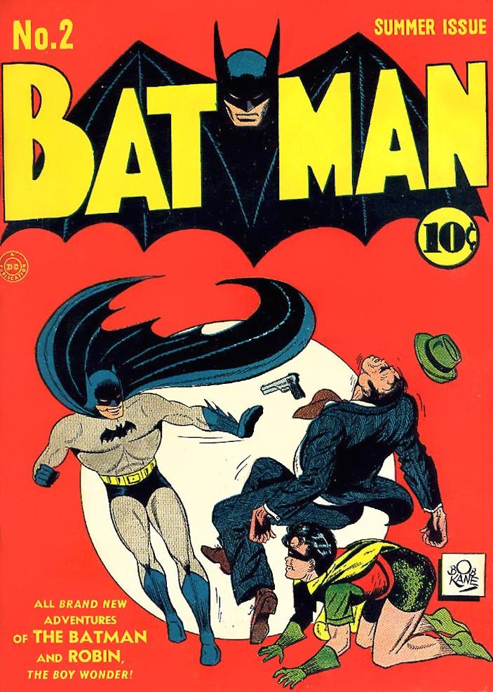 Batman and Robin beat up crooks