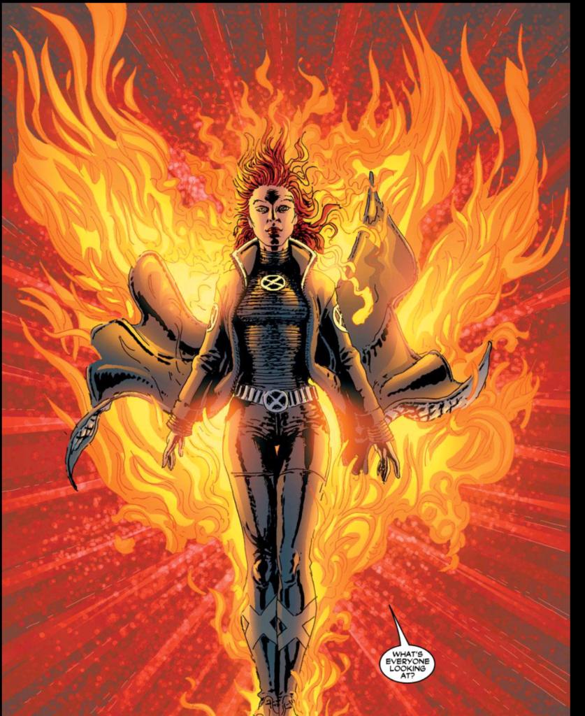 Jean Grey New X Men Phoenix