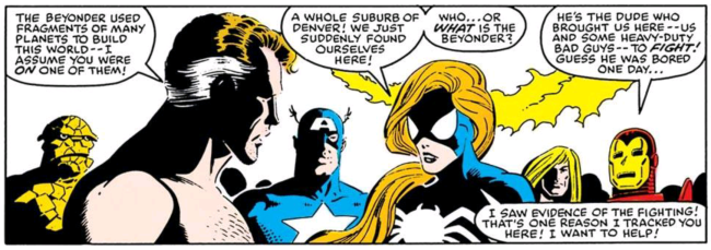 Shirtless Reed Richards
