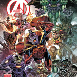 Cover art by Scott Koblish with colors by Romulo Fajardo. Marvel digital erroneously gives credit to Scott Kolins