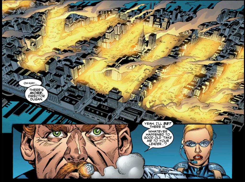 Marvel Boy Curses in Fire