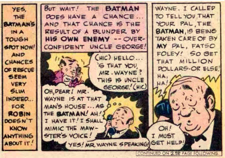 Alfred to the rescue!
