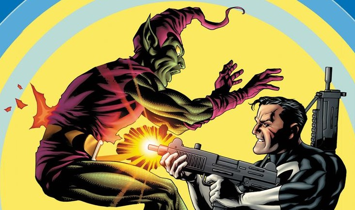 Punisher takes on Norman Osborn