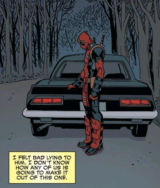"""Yeah, but it's not like """"The Death of Guy in the Trunk"""" is on the cover either..."""