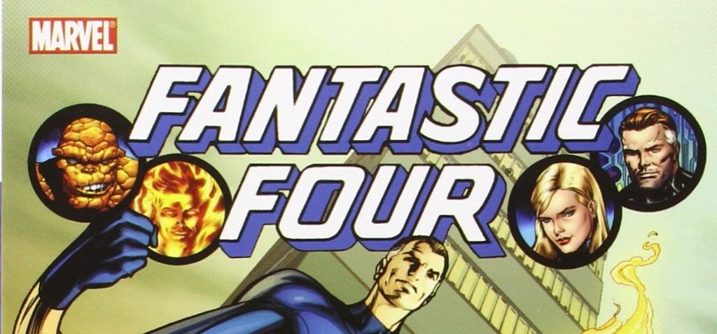 The Fantastic Four written by Jonathan Hickman