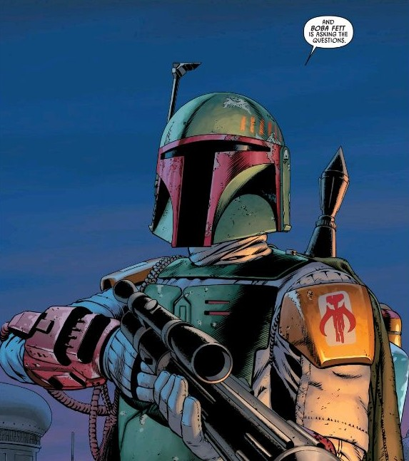 """Such as: """"Why is Boba Fett referring to himself in the third person?"""""""