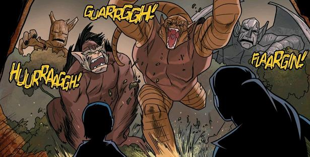 """Even """"proto-Groot"""" gets in on the action!"""