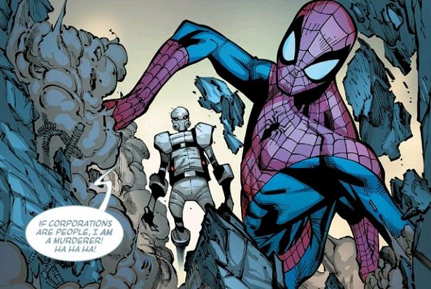 """Really, Ghost? You wanna play """"What If?"""" with Parker?! Pick a battle you can win, man!"""