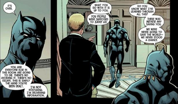 So it's like that, huh? (Avengers #44. Art by Stefano Caselli)
