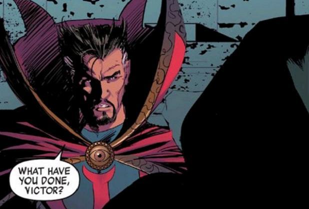 """You got some 'splainin' to do!"" (New Avengers #33. Art by Mike Deodato)"