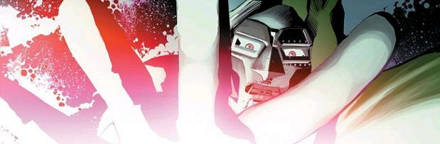Winner of Series Best Silent Panel! (New Avengers #33. Art by Mike Deodato)