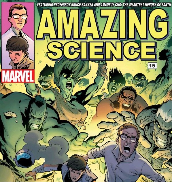 """Cover"" to Amazing Science #15"