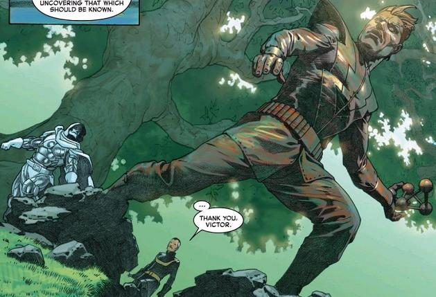 """""""The Molecule Man: Gave His Life In Service of the Plot"""""""