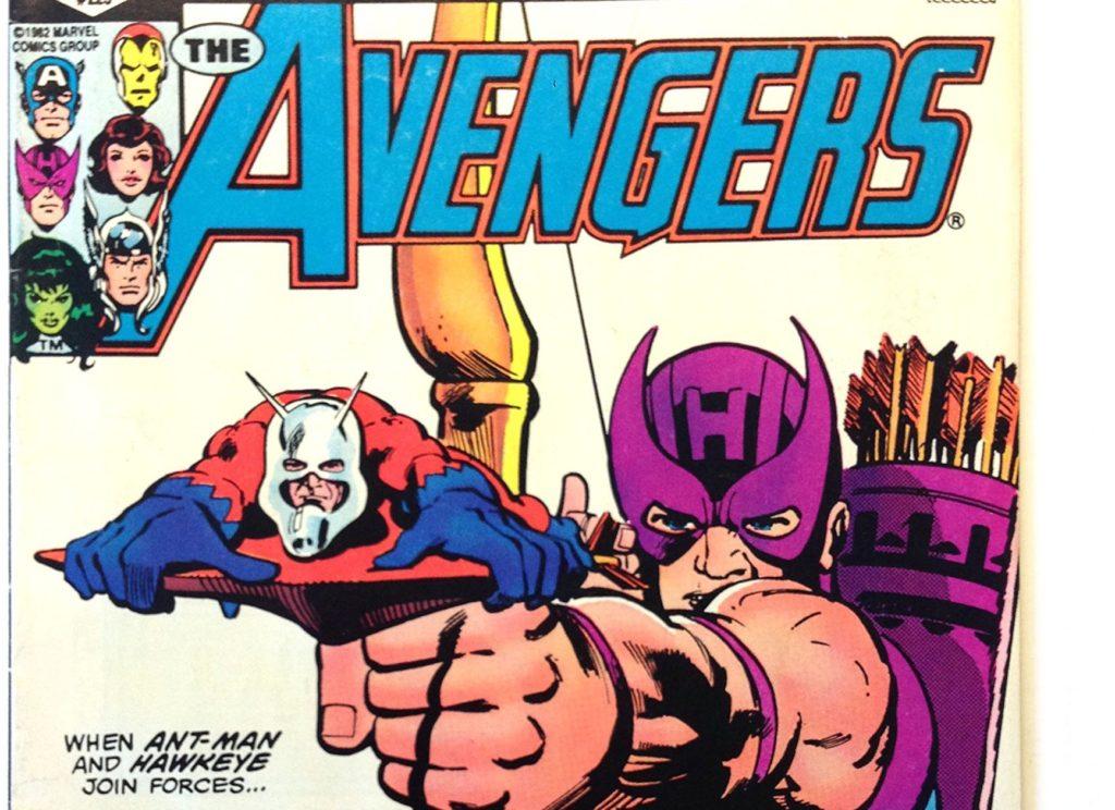 Hawkeye shoots Ant Man